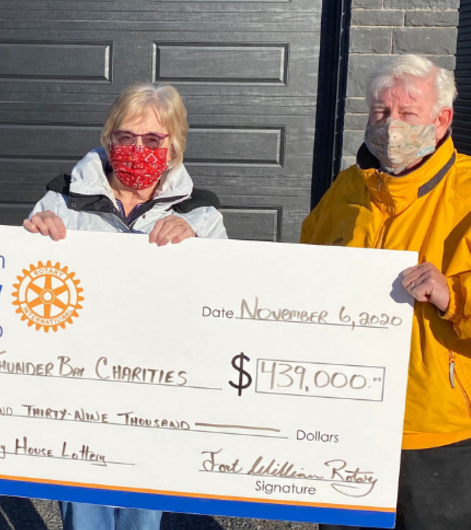 Fort William Rotary House Lottery Winners